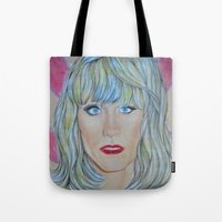 jared leto Tote Bags featuring Jared Leto as RAYON by Jenn