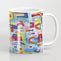 game Mugs featuring Game by Tanja K