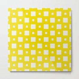 Nassau Yellow Metal Print