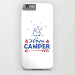 Happy Camper pr iPhone Case