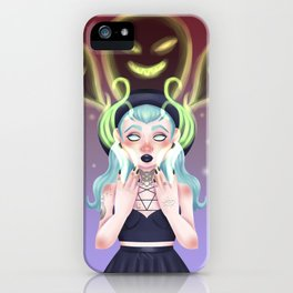 The Necromancer iPhone Case