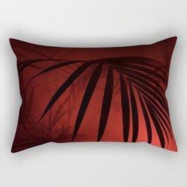 Night Palm Rectangular Pillow