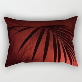Night Palm Rectangular Pillow