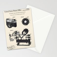 Camera Patent 1963 Stationery Cards