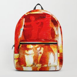 Violence is a form of blindness Backpack