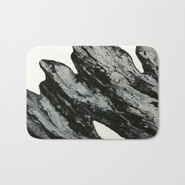Black Bath Mat