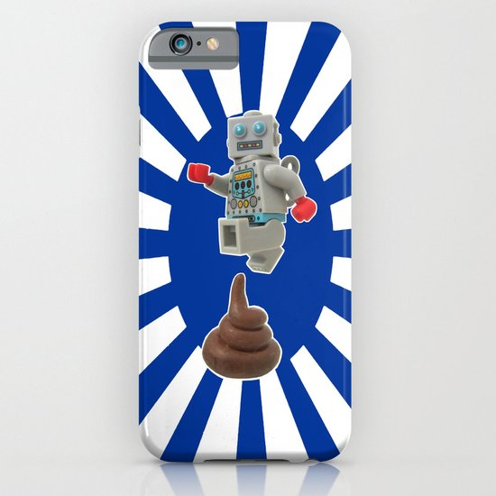 Poo jumping iPhone & iPod Case