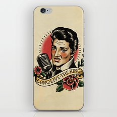 Long Live The King / Elvis iPhone & iPod Skin