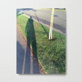 Shadow Giant Metal Print