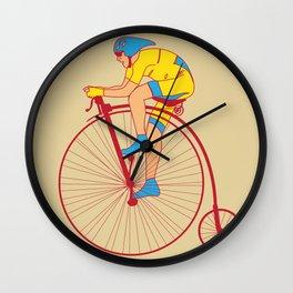 Pennyfarthing  Wall Clock