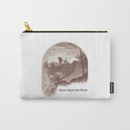 Once Upon the River (Ticonderoga Falls) Carry-All Pouch
