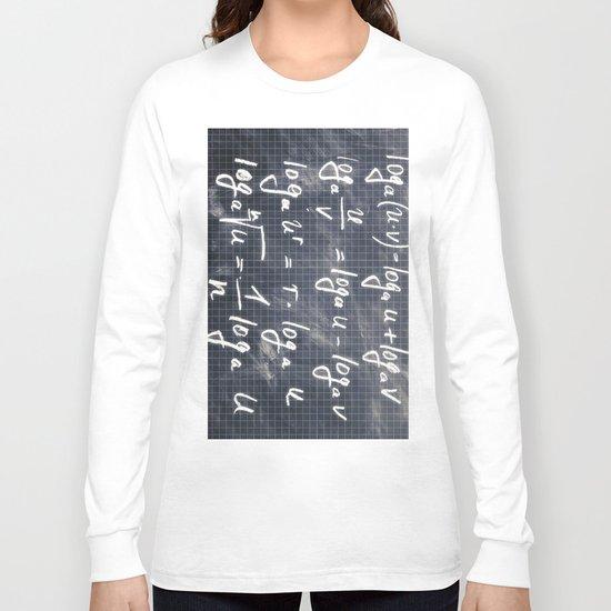 logarithm Long Sleeve T-shirt