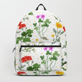 Spring Wildflowers Backpack