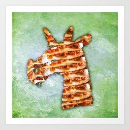 Unicorn Lasagna Art Print