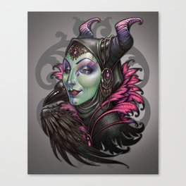 Mistress of Evil Canvas Print