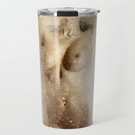 Nude Woman Dancing Travel Mug