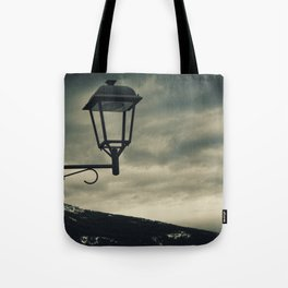 Troubled empty Tote Bag