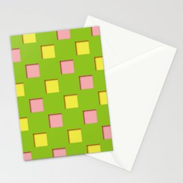 Japanese checkered pattern #12 Stationery Cards