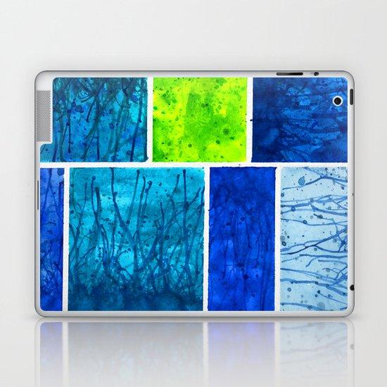 Blue Block Laptop & iPad Skin