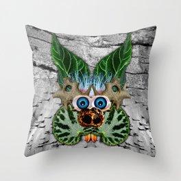 Begonia Being Throw Pillow