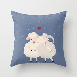 Sheep Series [SS 01] Throw Pillow