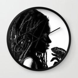 asc 659 La transformation (An african tale) Wall Clock