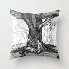 Adagrid - Ingrid Throw Pillow