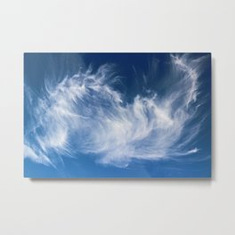 Mystical Cloud Formation Metal Print