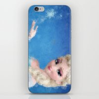 frozen elsa iPhone & iPod Skins featuring Elsa - Frozen by lauramaahs