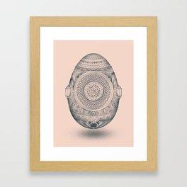 Dystopian Birth Framed Art Print
