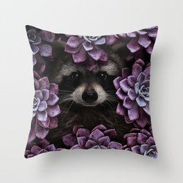 everything is magnified when you live from day to day. Throw Pillow