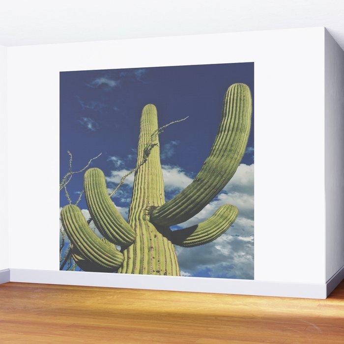 Sonoran Desert Saguaro Cactus Wall Mural