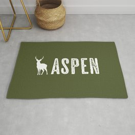Deer: Aspen, Colorado Rug