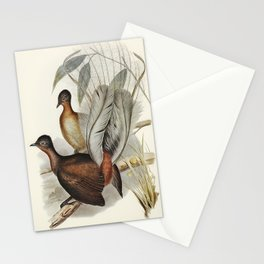 Vintage fowl bird art Stationery Cards