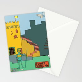 Afternoon at the Medieval Age (a) Stationery Cards