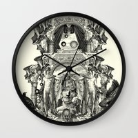 rome Wall Clocks featuring Rome by DIVIDUS
