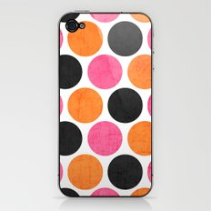 party polka dots iPhone & iPod Skin