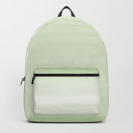 Daybreak Seafoam Green - Abstract Art Series Backpack