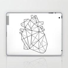 Origami Heart Laptop & iPad Skin