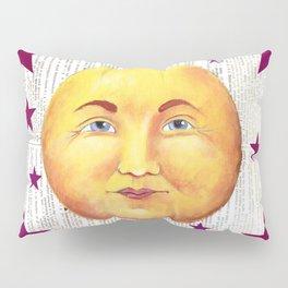 Man in the Moon Pillow Sham