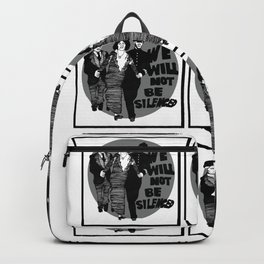 We Will Not Be Silenced IV Backpack