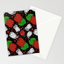 Protea Pattern - Lovely Australian Native Florals Stationery Cards