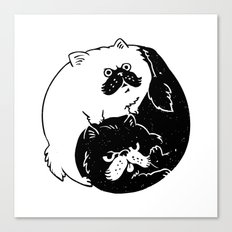 The Tao of Cats Canvas Print