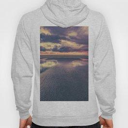 Stormy Beach Sunset Hoody