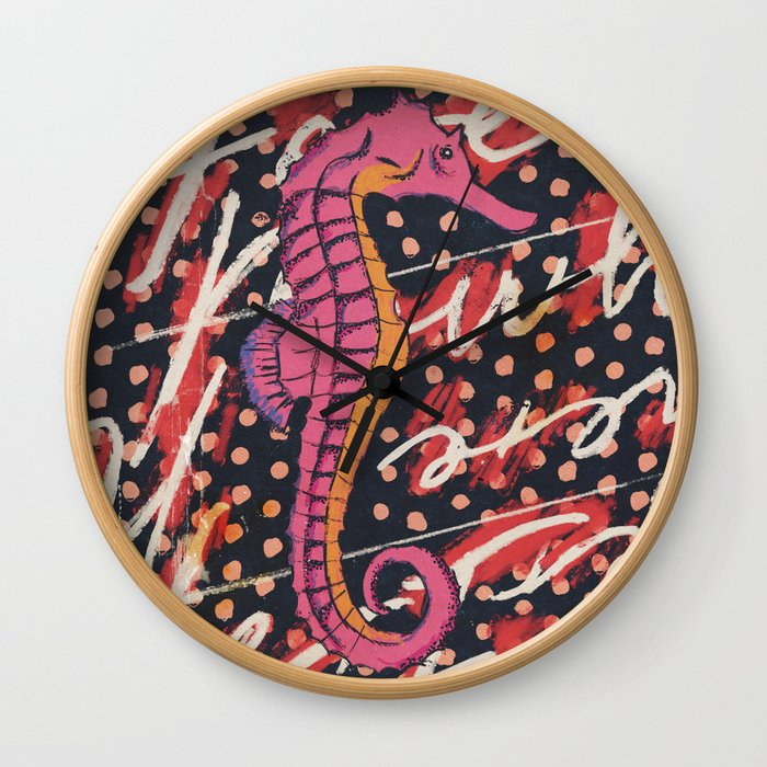 Forever Sea Rindin Wall Clock