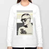 ben giles Long Sleeve T-shirts featuring Reserved Magazine Giles Deacon by Mitja Bokun