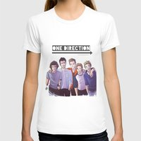 one direction T-shirts featuring One Direction by Gianbe