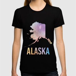 Watercolor State - AK T-shirt