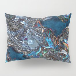 Abstract Waves of Color Pillow Sham