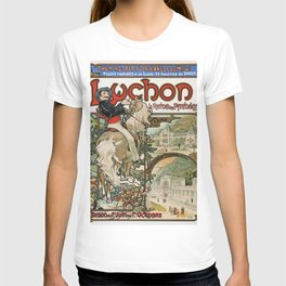 12,000pixel-500dpi - Alfons Mucha - Luchon - Digital Remastered Edition T-shirt